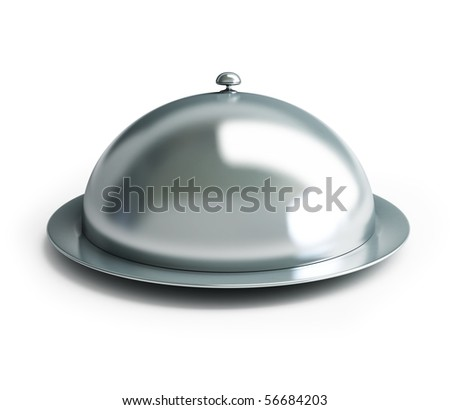 cloche on a white background