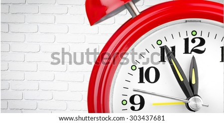Clock, Alarm Clock, Time.