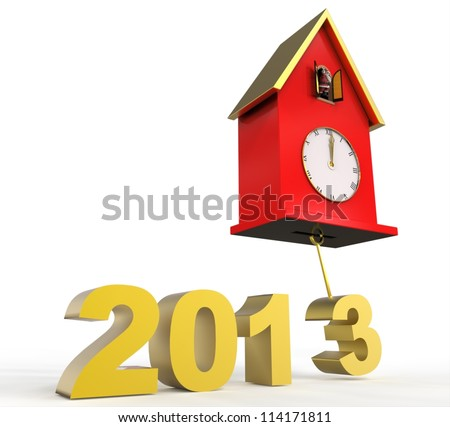 Clock and Year 2013