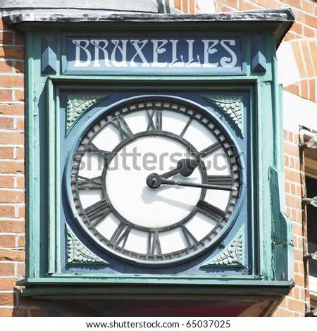 clock, Dublin, Ireland