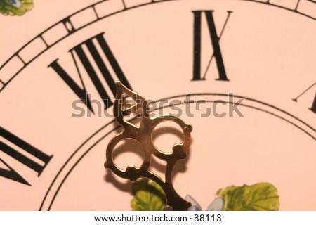 Clock hand at 11