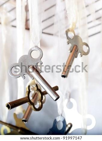 Clock Keys for Winding Antique Clocks