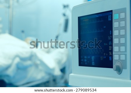 Clock monitoring of the patient\'s condition in the intensive care unit