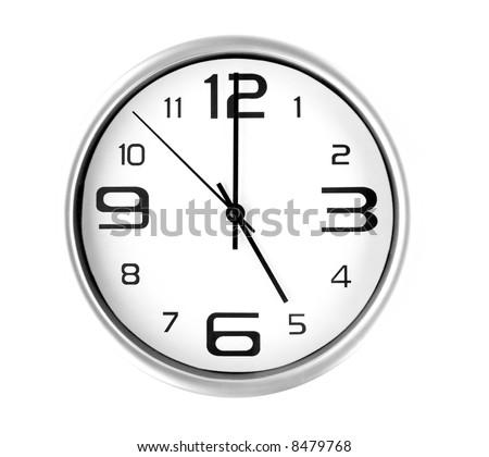 Clock - 5 o'clock