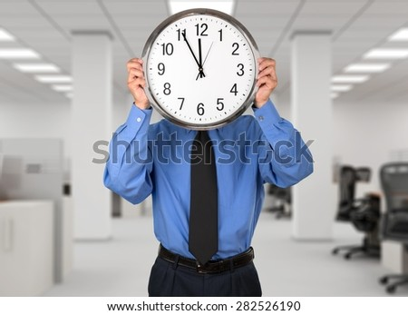 Clock, Time, Business.