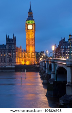 Clocktower of the Houses of Parliament