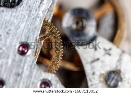 clockwork mechanical watch