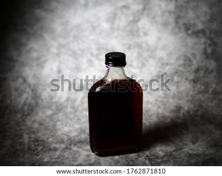 Clod brew , black coffee in the bottle Photo stock ©