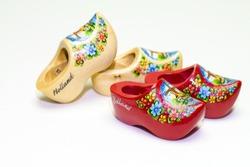 Clogs wooden shoes