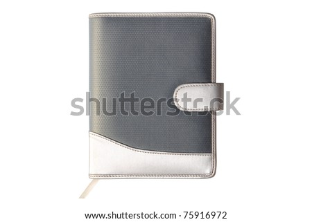 Close Dairy Book isolate on white background