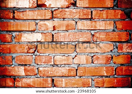 close up abstract brick wall background