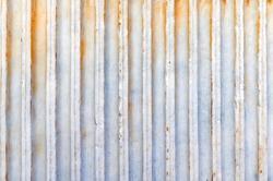Close up abstract macro texture of column fluting