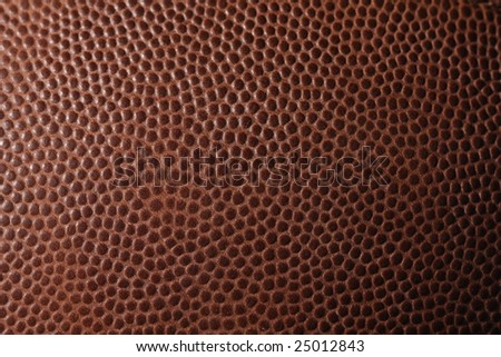 Close up an american football for sports background