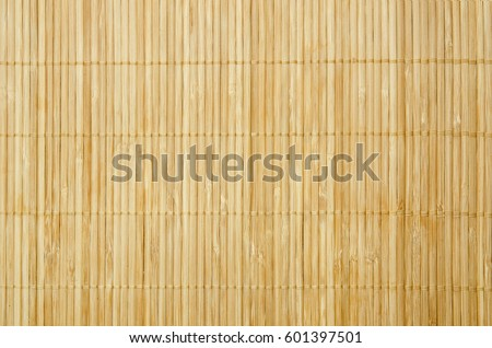 Close up background from bamboo table cloth