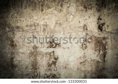 Close-up background of old wall.