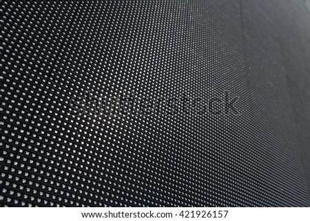 Close up big LED panel background for presentation, modern advertising device