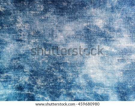 Close up blue jeans  denim background and texture