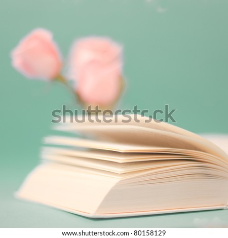 Close up book