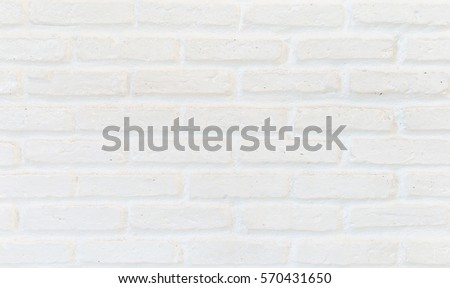 Close-up bright vintage brick wall background. Abstract image of old wreck stucco concept for clean banner new poster textured, realistic used solid rectangle seam natural clay
