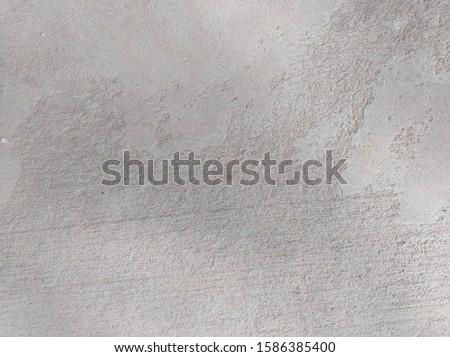 Close-up cement surface, concrete surface construction Build a courtyard Or the parking lot