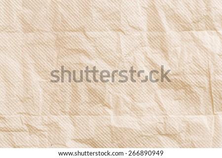 Close up crumpled tissue paper texture