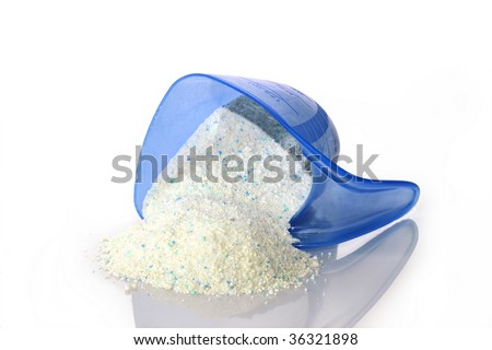 Close-up detergent for laundry washing machine.