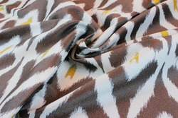 close up drapery fabric material with pattern, fashion fabrics, upholstery, textiles