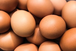 Close up egg texture background