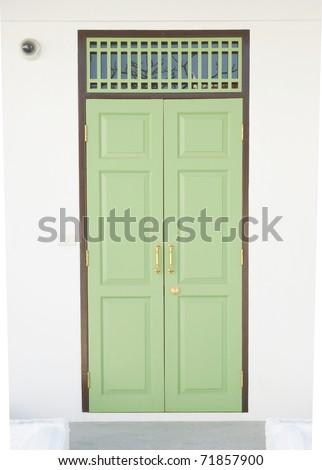 close-up Front Door