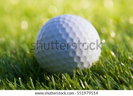 Close-up Golf ball