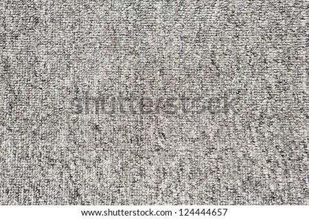 Close up grey color carpet texture