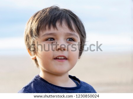 1ae304f3694 Free photos Close up portrait of cute little boy on natural ...