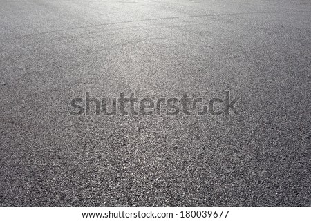 Shutterstock close-up horizontal view of new asphalt road