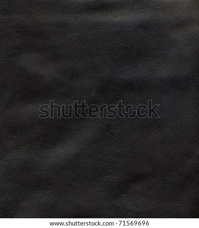 Close-up HQ natural leather texture to background