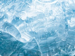 Close-up, Melted plastic or water flow