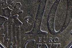 close-up metal, cent macro photography