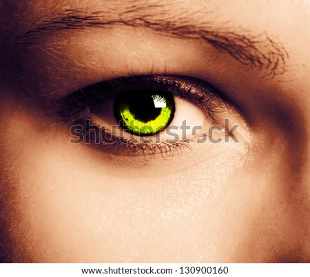 Close up of a beautiful eye