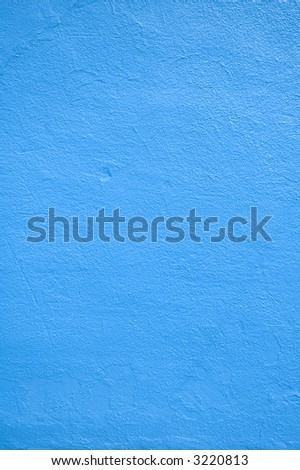 Close up of a blue wall. #3220813