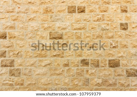Close up of a brick-wall, texture background
