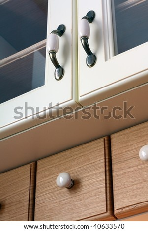 Close up of a classic kitchen