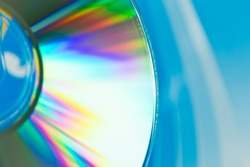 close up of a disc