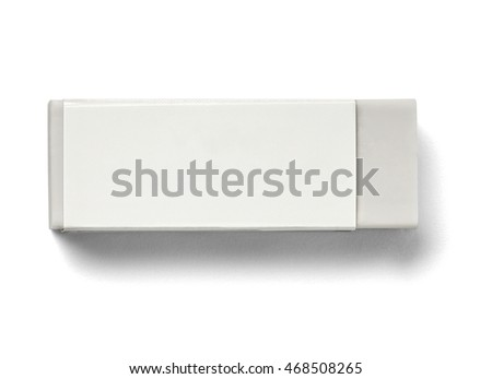close up of a eraser on white background #468508265