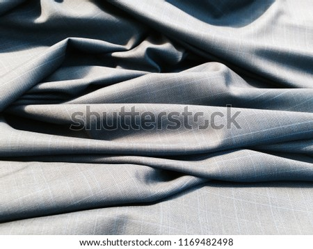Close up of a Fabric texture in a garment Factory near Jining, China