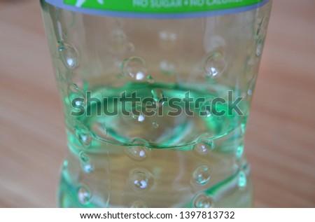 Close up of a fizzy pop bottle #1397813732