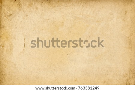 close up of a grunge vintage old paper background #763381249
