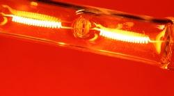 Close up of a Halogen Bulb