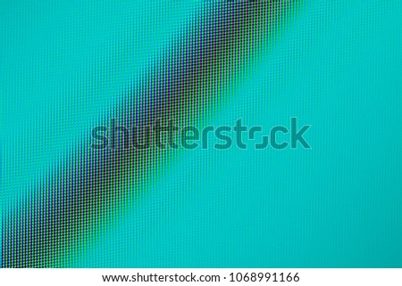 Close up of a high resolution computer screen as a green abstract background.