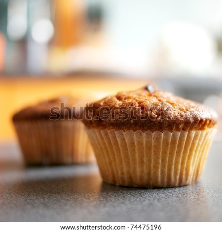 Close-up of a muffin #74475196