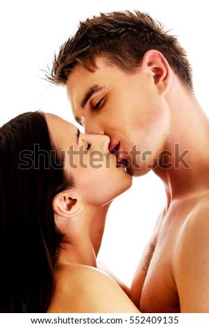 Boy kiss girl nude — pic 1