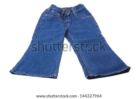 Close-up of a pair of jeans